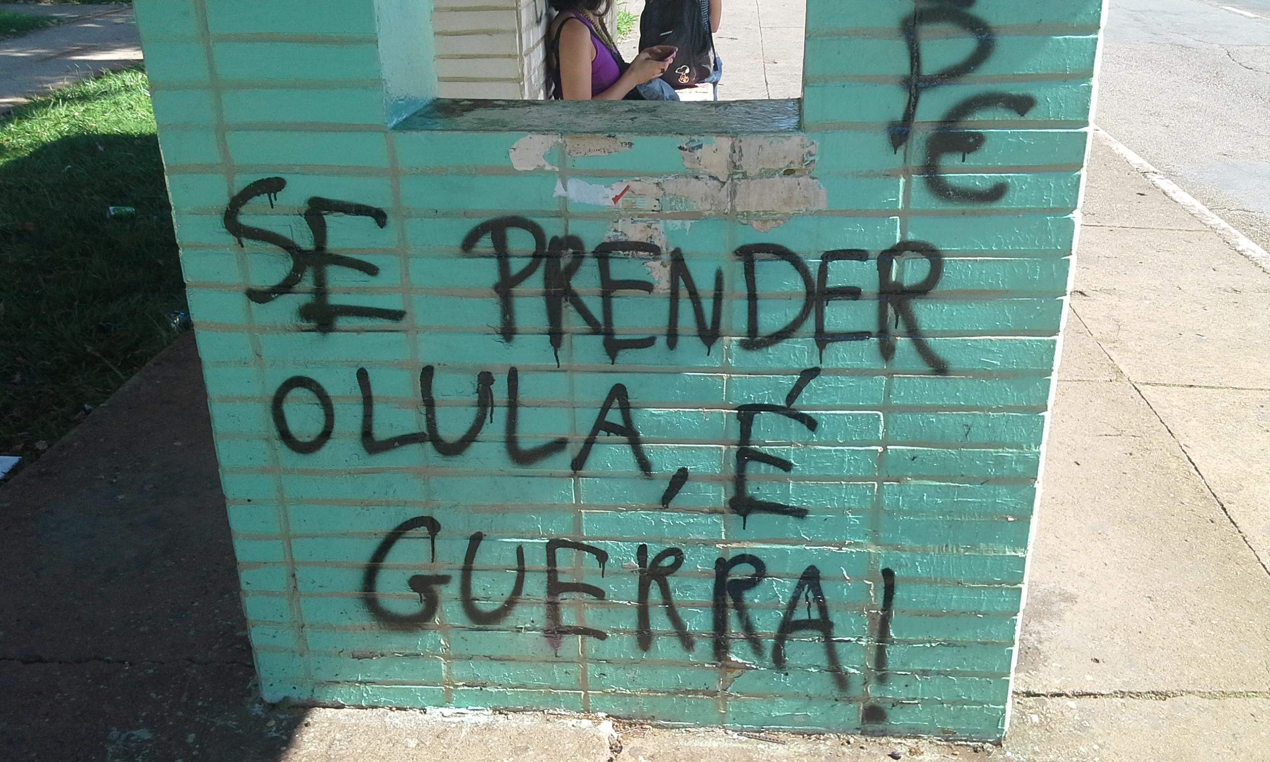 """""""Si se meten con Lula, hay guerra!"""""""